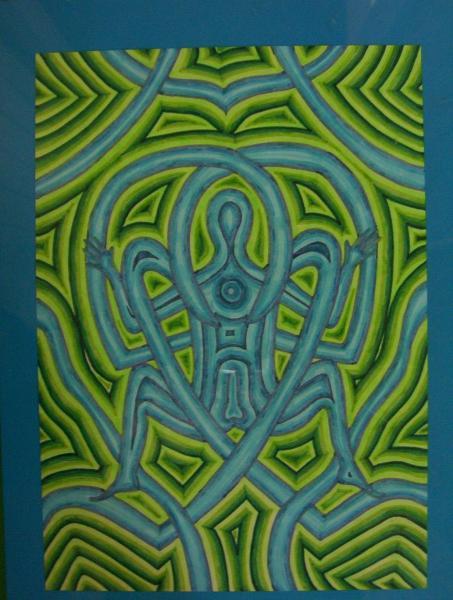 wandjina art