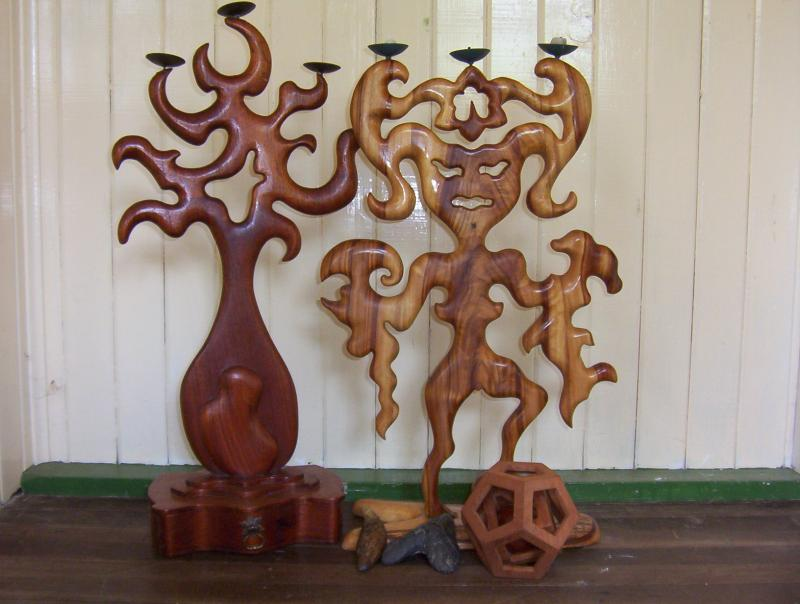psychedelic woodcraft