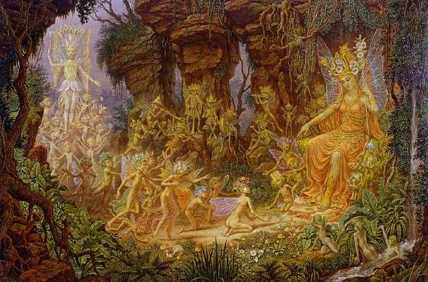 The Reconciliation of Titania and Oberon 1994