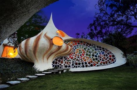 spiral shell house