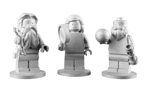 Juno lego pieces - Jupiter, Juno and Galileo