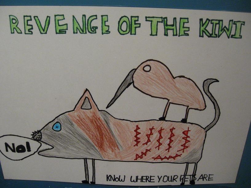 revenge of the kiwi