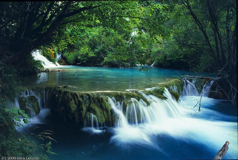 croatian national park lakes And waterfalls